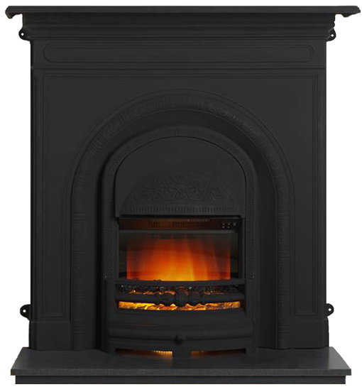 ashbourne electric combination black